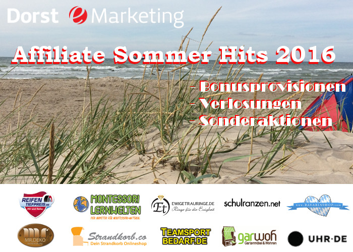 Affiliate Sommerhits 2016