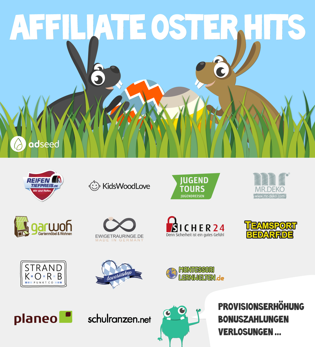 Affiliate Oster Hits