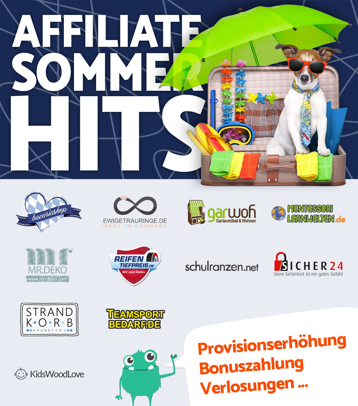 Affiliate Sommerhits 2018