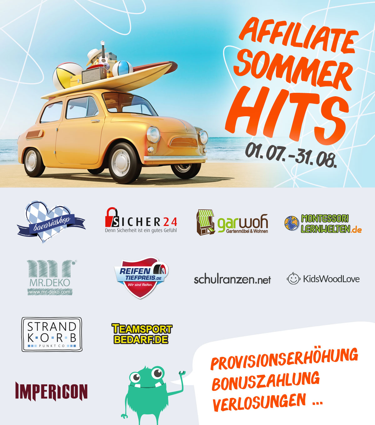 Affiliate Sommerhits 2019